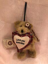 New ListingBoyds Bears Plush Ornament Grammykins Angel Bear