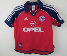 Adidas Bayern Munich 1999-01 Football Shirt Jersey Trikot Youth Yth Boys LB 7 8