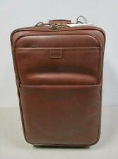 """Hartmann The Belting Leather Collection 22"""" Deluxe CarryOn Luggage New With Tags"""