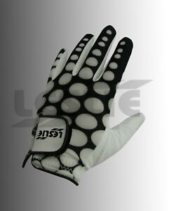 Leslie Ladies 100 % Cabretta Leather with Lycra Golf Glove S, M, L Available