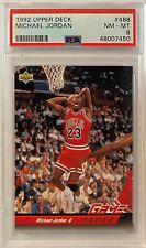 1992 Michael Jordan Upper Deck #488 PSA 8 NM-MT GOAT HOF