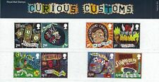 2019 QE2 COMMEMORATIVE STAMP PRESENTATION PACK NO 573 CURIOUS CUSTOMS