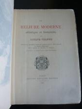 O. Uzanne-La reliure moderne, artistique et fantaisiste-EO 1877-72HT-Art-relieur