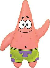 "26"" Anagram Spongebob Patrick Jumbo Mylar Foil Balloon Party Supplies"