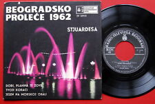 "BEOGRADSKO PROLECE 1962 V/A GABI NOVAK STJUARDESA JAZZ POP RARE YU 7"" PS EP"