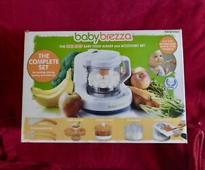 NIB Baby Brezza ONE STEP Food Maker & Accessory Set The Complete Set *Travel*