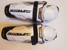 "Used Bauer Supreme S170 Shin Guards Childreen Size 11""/28cm with removable liner"