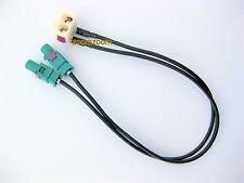 Radio Antenne Adapter FAKRA VW RCD RNS 300 310 315 510 MFD2 210 Seat Skoda Kabel