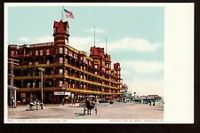 1904 horse carriage Hotel Velvet Old Orchard Maine postcard