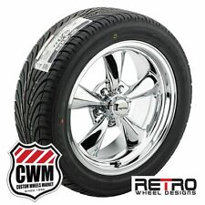 "17 inch 17x7"" 17x8"" RWD Chrome Wheels Rims Tires for Plymouth Duster 70-76"
