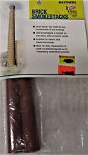 Walthers 933-3789 Brick Smokestacks 2 Pack N Scale 1/87