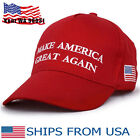 US Make America Great Again Donald Trump Hat Cap Red Republican Embroidered