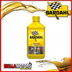 359041 1 LITRO OLIO BARDAHL XT4-S C60 10W60 LUBRIFICANTE PER MOTO 4T 1LT