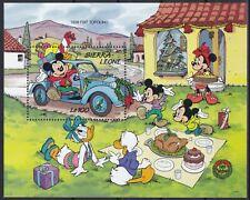 Sierra Leone Block 117 (1341) **, Walt Disney - Automobile / Old Cars - Fiat