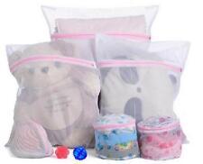 3x Zipped Laundry Washing Net Mesh Bra Socks Underwear Machine Wash washer Bag