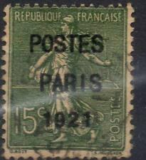 FRANCE ! Timbre ancien Préoblitéré de 1921 n°28