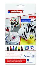 Edding Porzellan-Pinselstift Pinselstift Porzellan Edding Tassen Bemalen Set