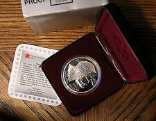 1995 Canadian 1 Dollar Silver Proof - KM# 259   Hudson Bay Company