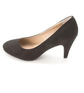 American Rag Felix Closed Toe Classic Pumps Cuban Heels Shoes Black 7.5M, $50