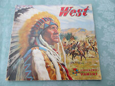 Sammelbilderalbum  von 1974, Figurine Panini,   West