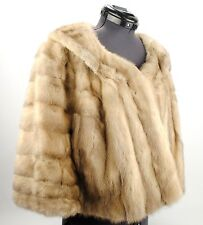 Fur Coat Bond Furs Mink Wrap Brown Cerulean Stole Vintage Evening Wear