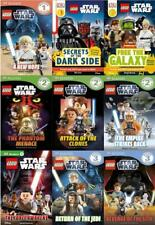 LEGO STAR WARS All Levels READERS Collection Set of Paperback Books 1-9