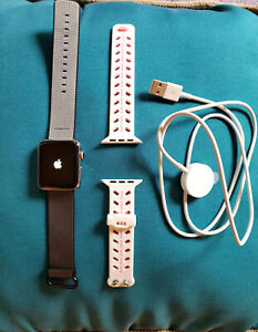 SALE! Apple 3 Watch with 2 Adjustable Bands and New Magnetic Charger Bundle