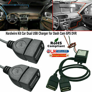 12V To 5V 3A Dual USB Car Charger DC Converter Connector Module For Mobile Phone