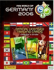 2006 Panini World Cup Germany 2006 06. Full set: 205 Messi and Ronaldo Rookie.