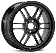 Enkei RPF1 18x10.5 +15mm 5x114.3 in Black Fits G35 / 350Z / Evo X