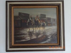 Very Rare J. Stanford Original Signed Oil Painting