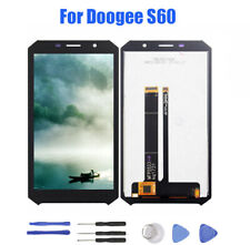 For DOOGEE S60 LCD Display + Touch Screen Digitizer Assembly Replacement Black