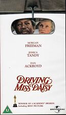 DRIVING MISS DAISY VHS PAL JESSICA TANDY,MORGAN FREEMAN,DAN ACKROYD NEW 80'S
