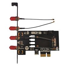 BCM94360CD BCM94331CD to PCI-E Mini PCI Express X1 Adapter