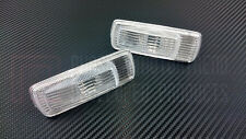 Phase 2 Front Fender JDM Clear Side Markers Lights for 180SX S13 Type X Bumper