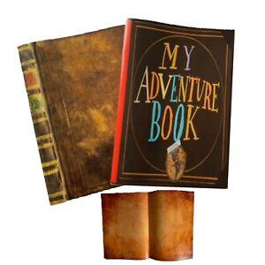2 x Vintage Photo Album Scrapbook Our Adventure Book Memory Anniversary DIY Gift