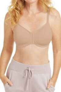 Amoena Mara Non-wired Front Closure Padded Mastectomy Bra - Light Nude 44741