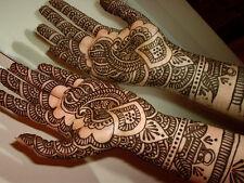 FRESH qualità hennè MEHNDI HAND MADE Tatuaggio incollare PEN CONI Indiano Pakistano NUOVO
