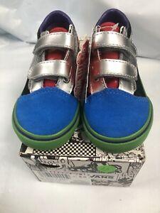 Vans Old Skool Marvel Avengers Multi Sneakers Toddler 6 T