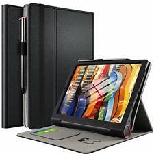 Custodia Cover per Lenovo Yoga Smart Tab, Slim-Book Protettiva Nero