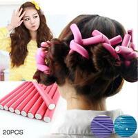 10pcs Girls Magic Foam Hair Curler Maker Bendy Twist Curls DIY Hair Styling Tool
