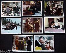 RETURN TO PEYTON PLACE 1961 LOBBY SET OF 8 CAROL LYNLEY JEFF CHANDLER