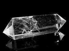 Bergkristall - Doppelender Kristalltherapie - Bergkristall Spitze poliert   50 g