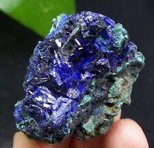 BIG CRYSTAL Sparkling Blue Azurite & Malachite B2675 Liufengshan Anhui China