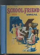 SCHOOL FRIEND ANNUAL 1928 - GIRLS STORIES
