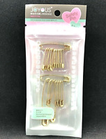 Safety pins Needle Gold Color metal for DIY Sewing Craft Wedding tool 1 pack