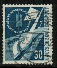 Germany #701 1953 30pf Transport, used F/VF (Sc $16 US)