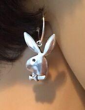 New Playboy Hoop Bunny Earrings, 20 Mm, Gift Box