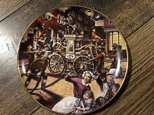 FRANKLIN MINT PHILADELPHIA-STYLE HAND PUMPER Plate