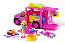 Mattel Polly Pocket Pyjamaparty Safari -truck